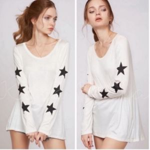Ivory star top